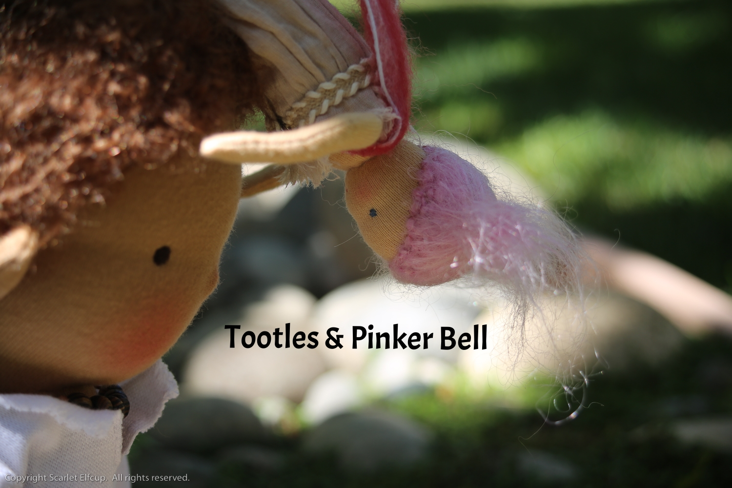 The Story of Tootles and Pinker Bell .