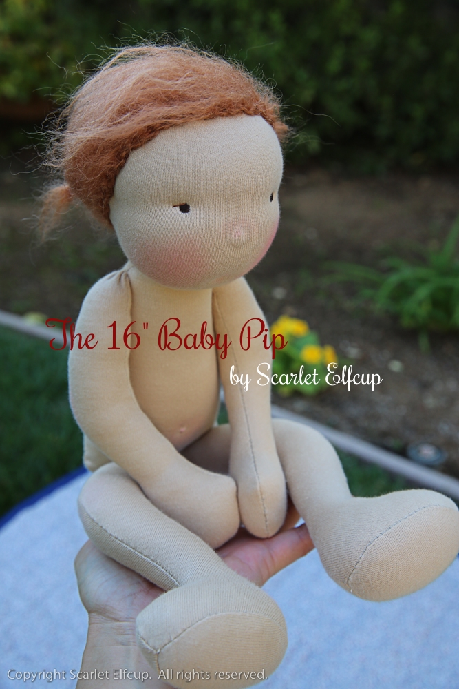 "Read about  the 16"" Baby Pip ."