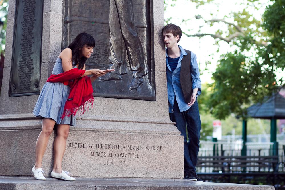 Beth Ann Hopkins as Juliet, Jonathan Hopkins as Romeo