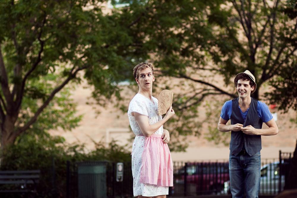 Sean Dillon as Nurse, Joby Earle as Mercutio