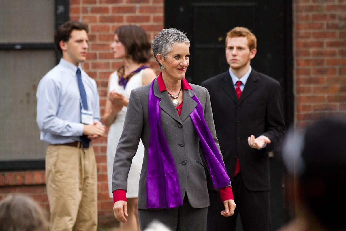 Sarah Dacey Charles as Julius Caesar
