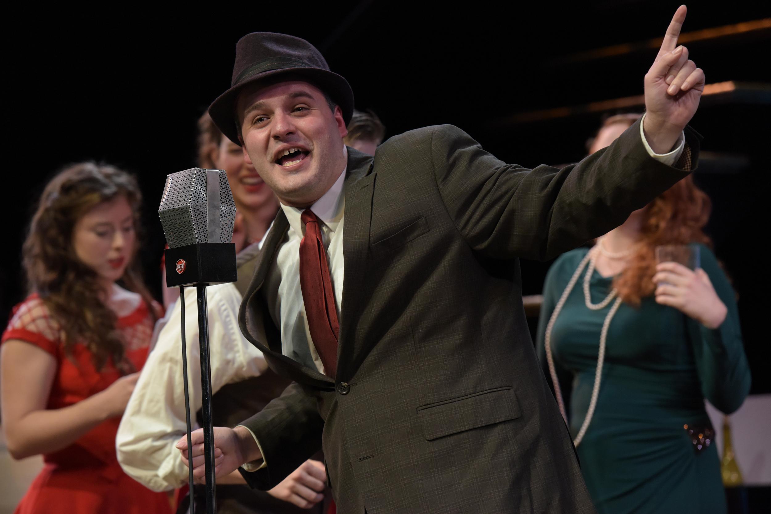 Corey Whelihan as Scrooge