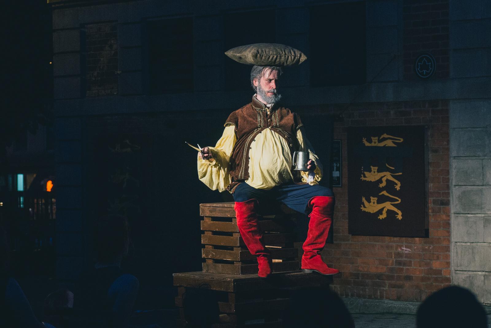 Jonathan Hopkins as Falstaff