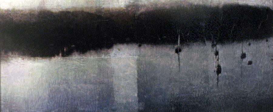 """Still_02 17""""x13"""" mixed media on paper"""