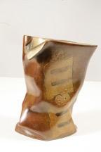 "Robin Antar m&m's Bag III 8""x4 1/2""x4 1/2""bronze"
