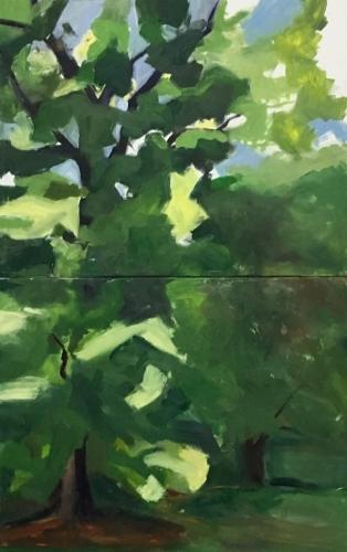 Day 2, NYSS Painting Marathon,Westbury Gardens, Summer 2016