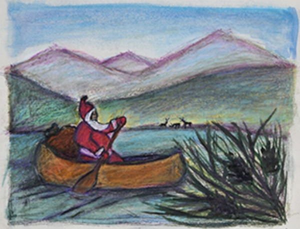 Canoe Santa - Into the Wilderness