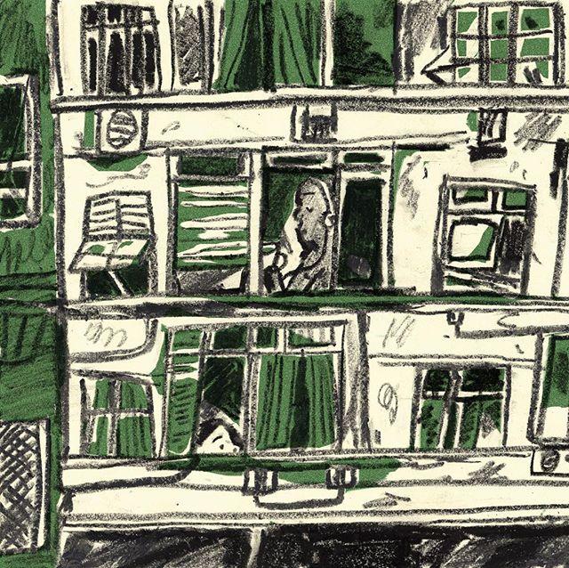 🌞👀 #illustration #riosketchbook #riodejaneiro #windows