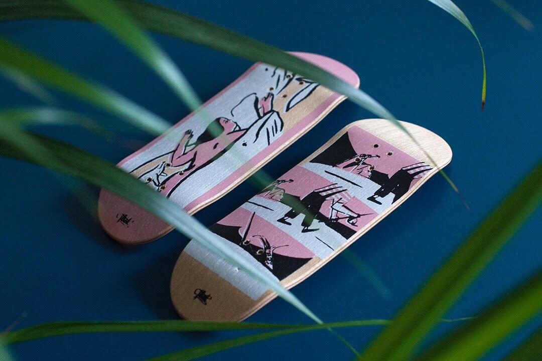 GZ x Flint Fingerboard Decks