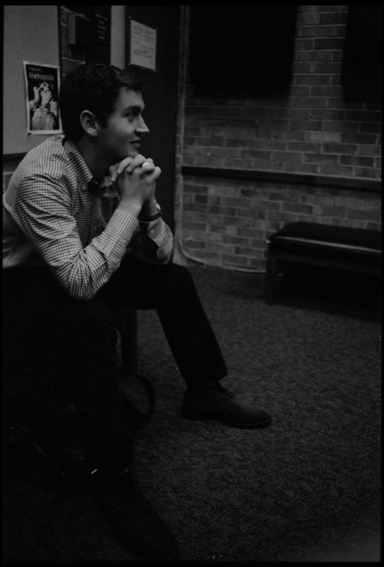 Conor In The Studio (DePaul University)