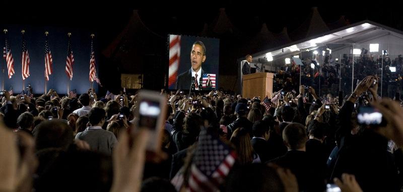 Election Night 02 (Grant Park)