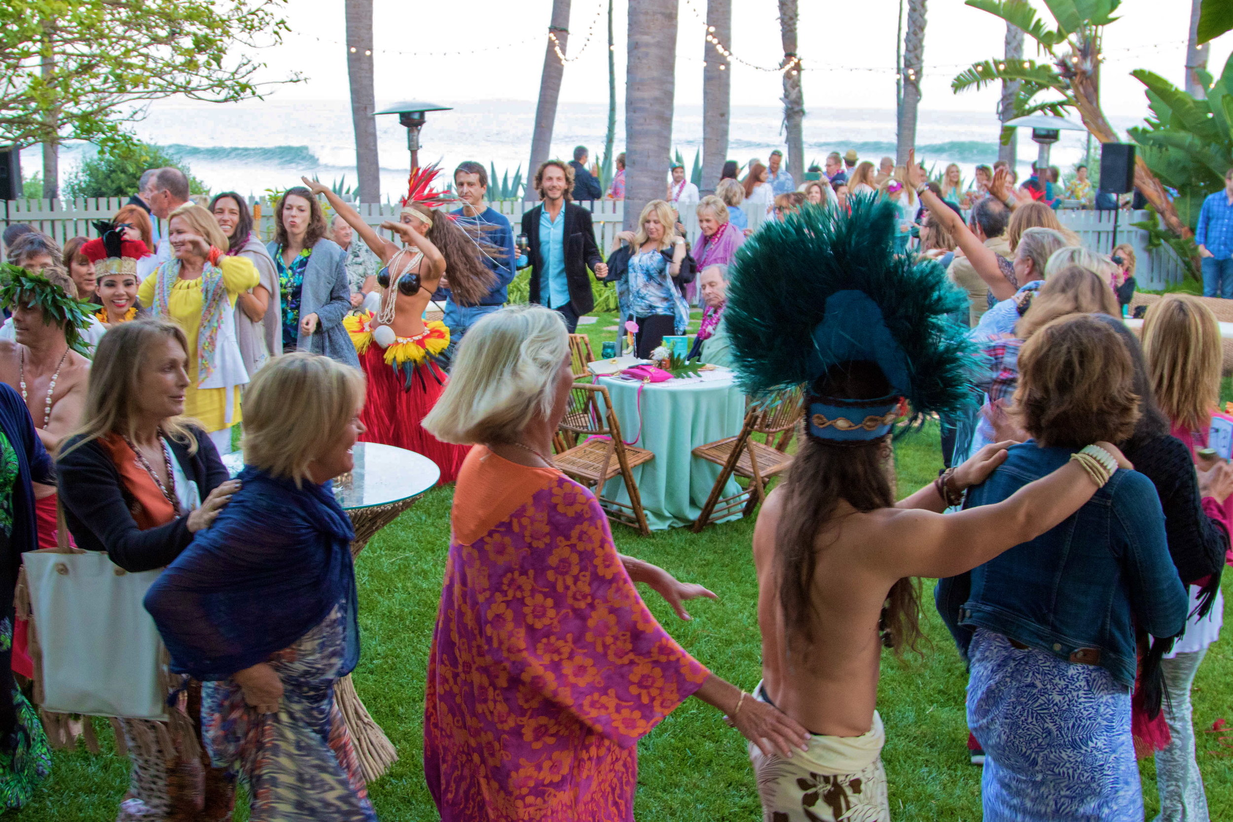 Congaline at the 1st Annual Rincon Luau