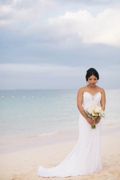 Melody was just stunning.  I loved her dress- so perfect of a beach wedding!