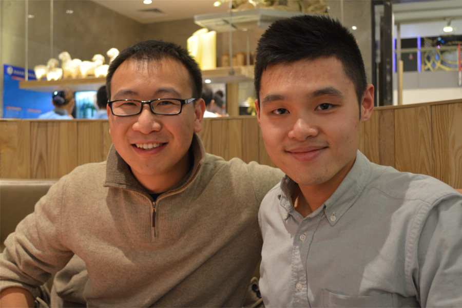 In autumn, Henry Shi (FACES '11) talked to Elaine Ng (FACES Beida) and Bruce Wong (FACES Stanford) on Peking University's campus.