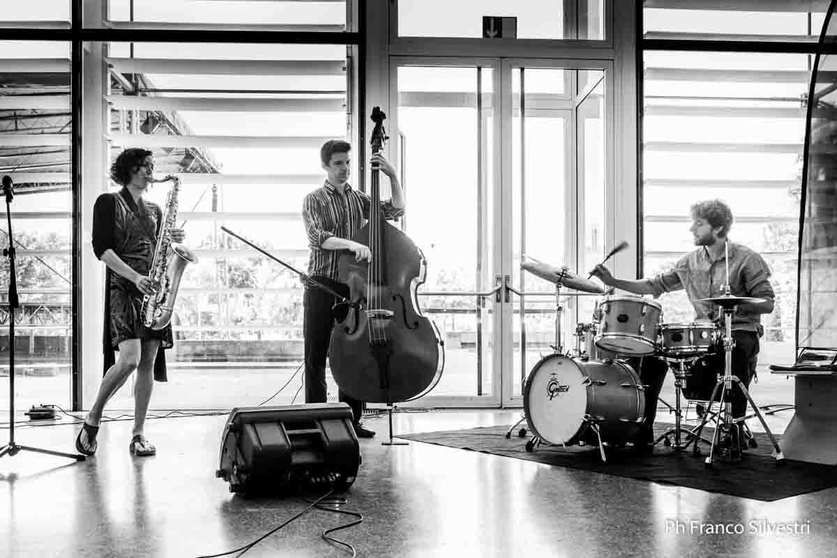 At Sudtirol Jazz Festival, Italy (courtesy of Franco Silvestri)