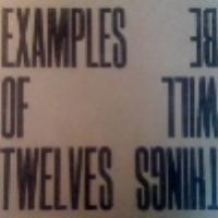 Riaan Vosloo's Examples of Twelves   Things will Be  released Aug. 2011