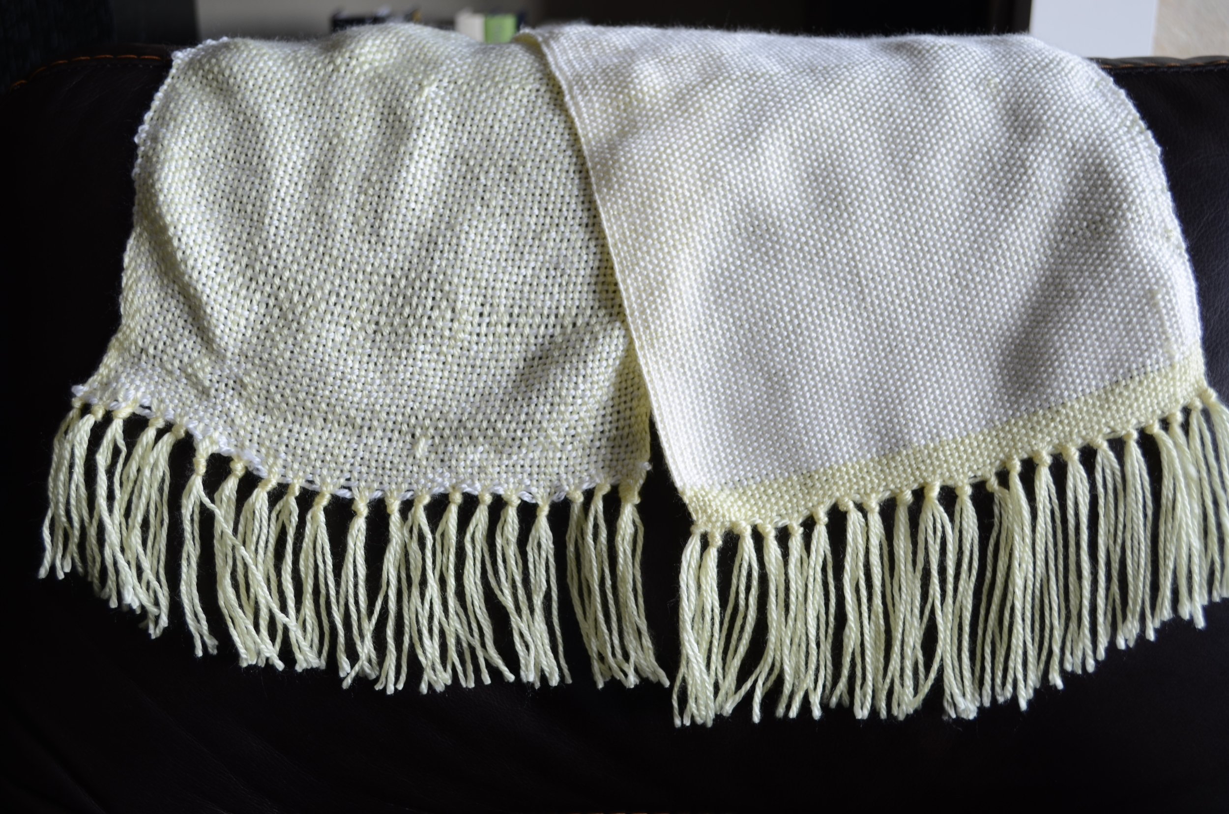 Warp or Weft: First Weaving Project