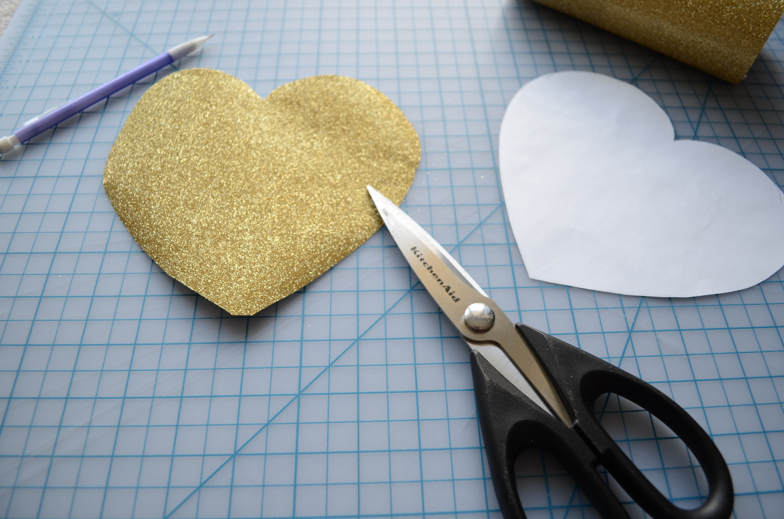 Warp or Weft: Valentine's Day Heart woven from paper