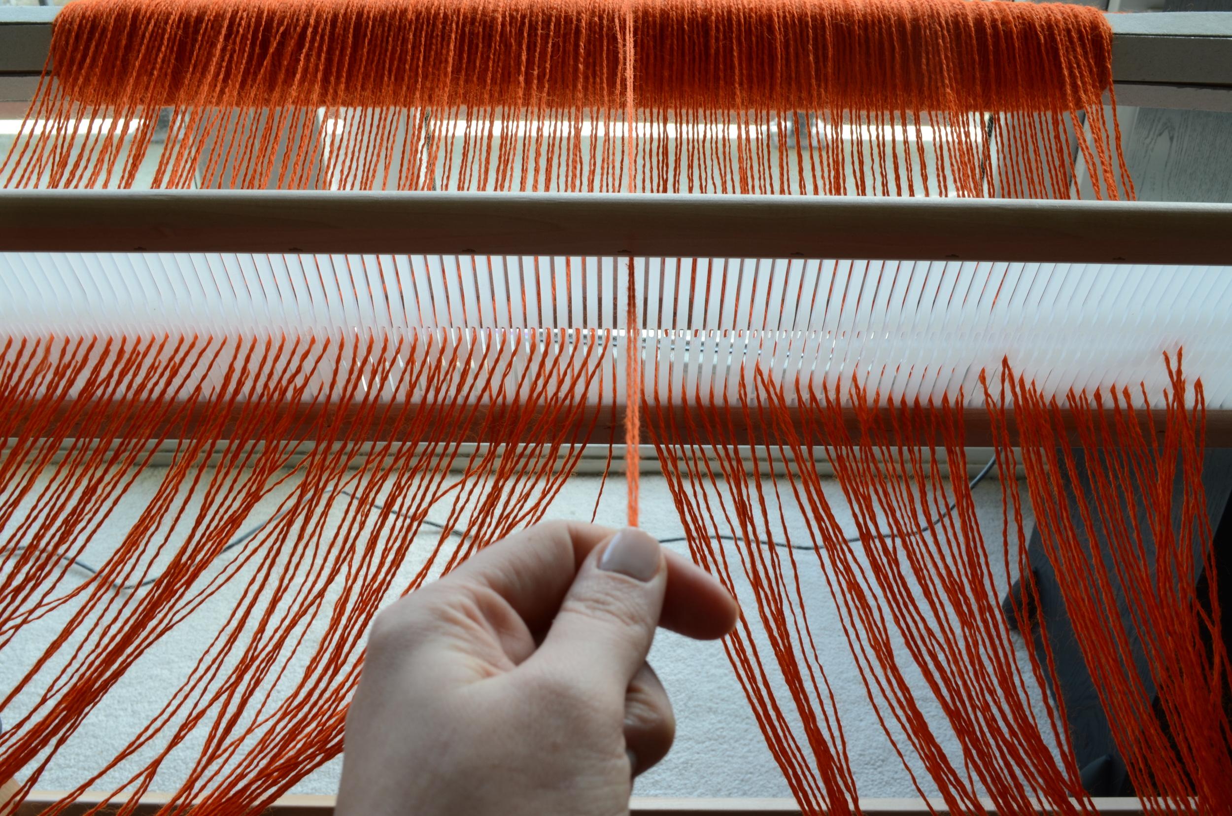 Warp or Weft : Warping a Rigid Heddle Loom