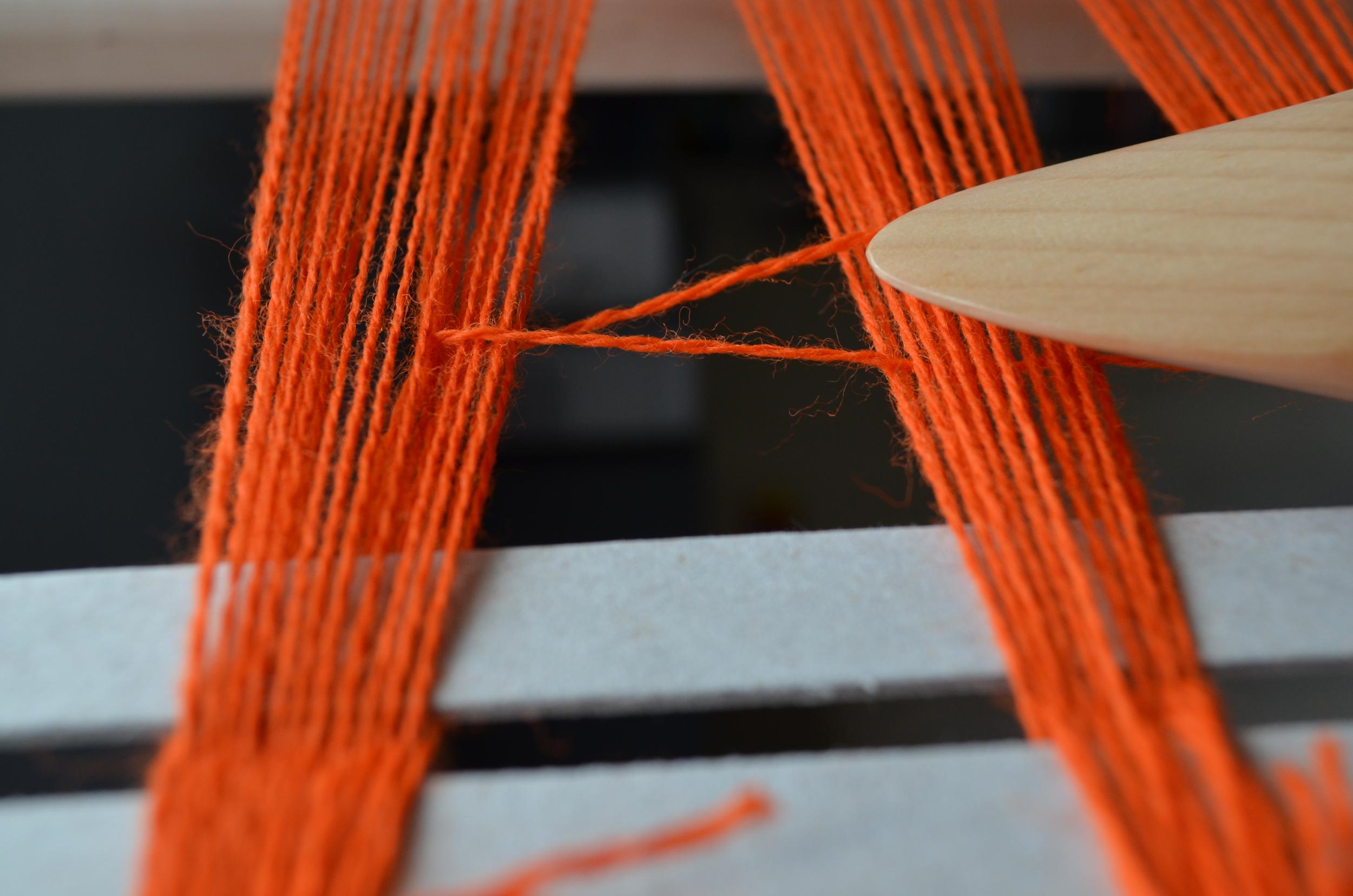 Pick up sticks / weaving / warporweft.com
