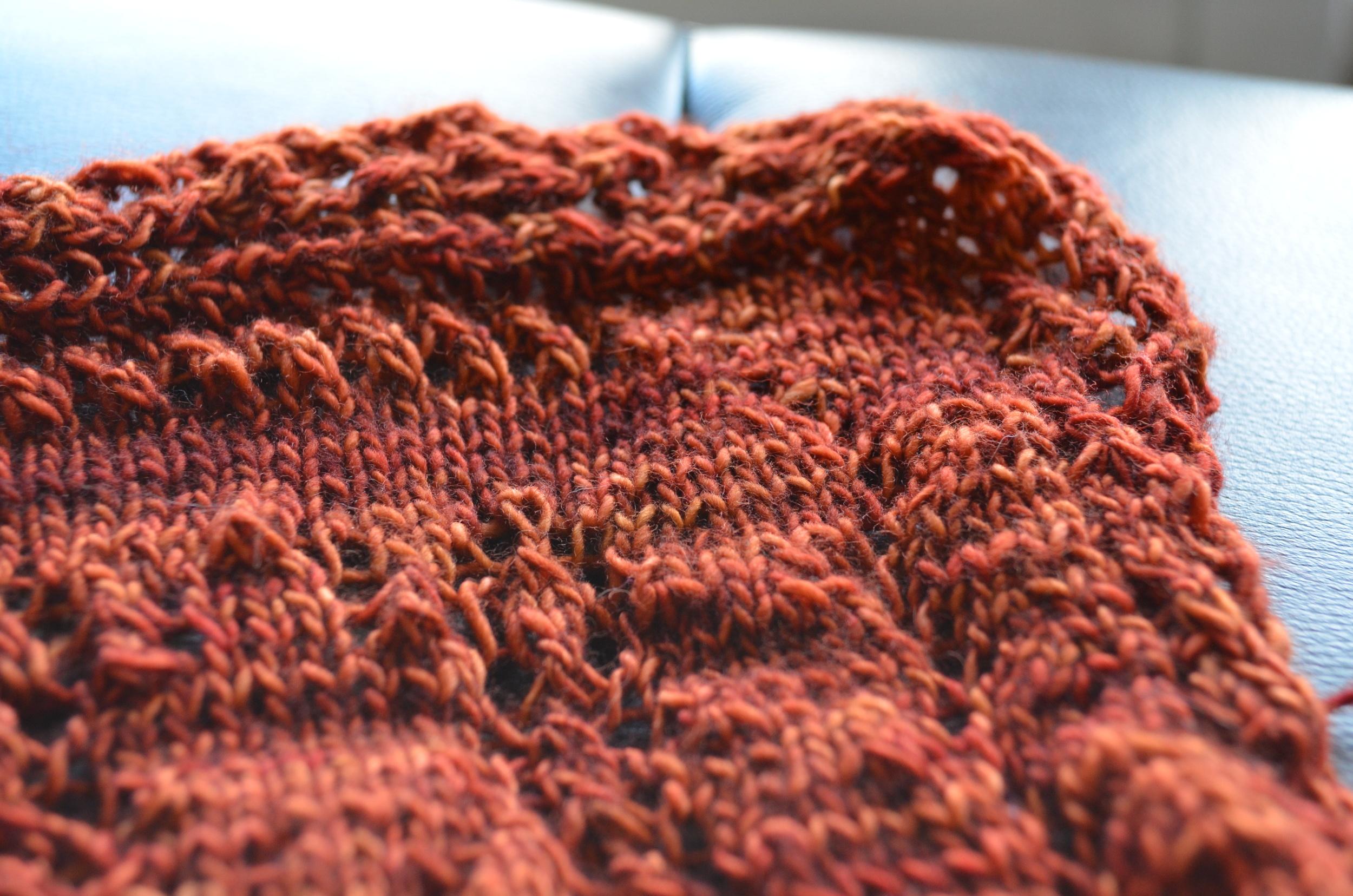knit stole