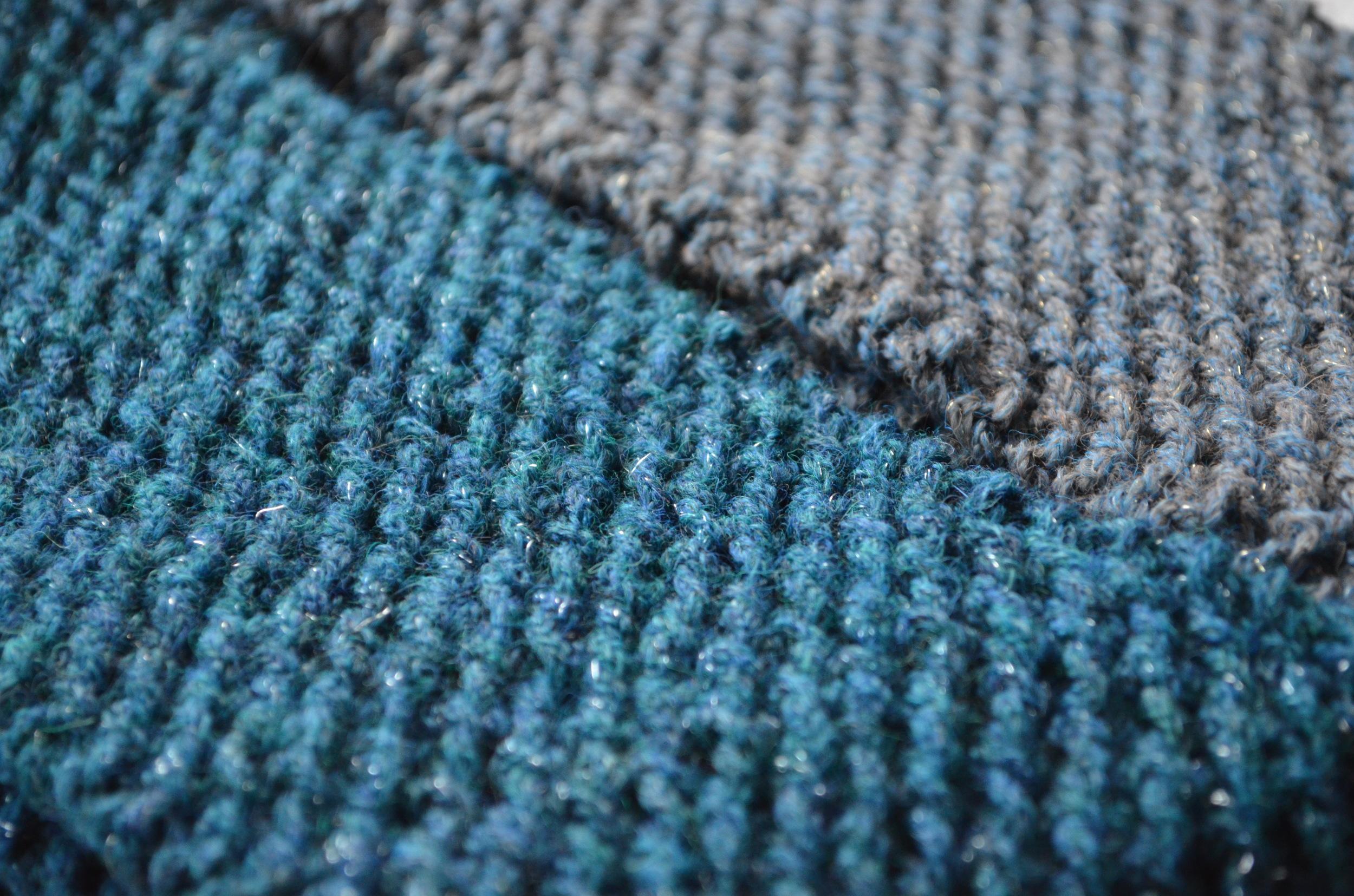 flicker berroco cowl / easy knit pattern / warporweft.com