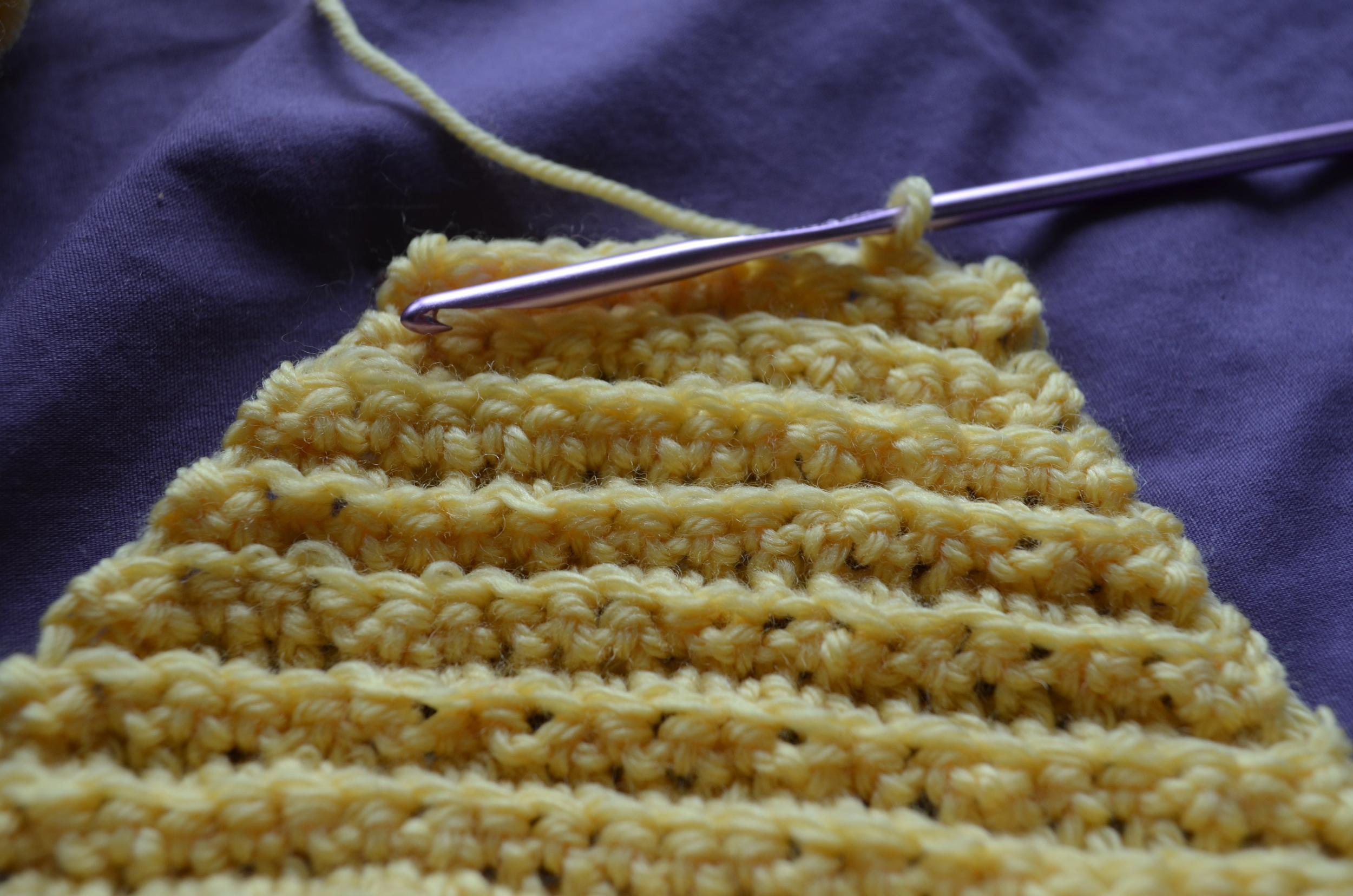 crochet sample / warporweft.com