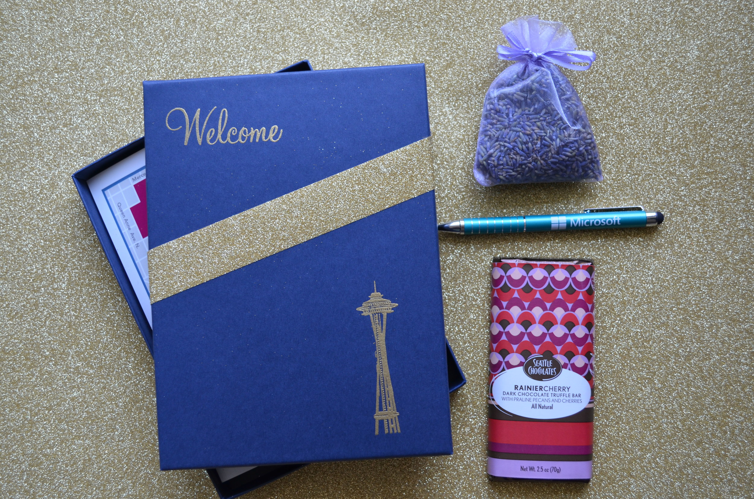 DIY wedding welcome bag / warporweft.com