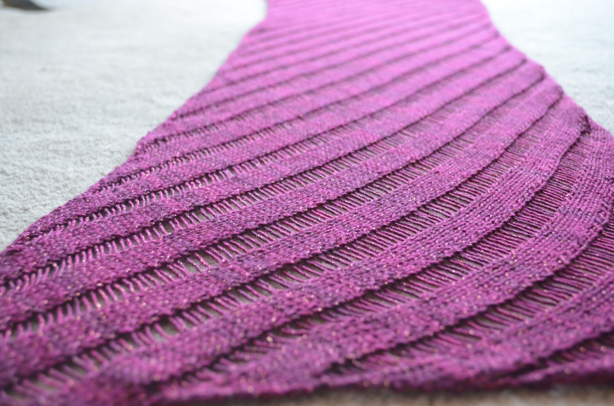 Clapotis / knit / warporweft.com