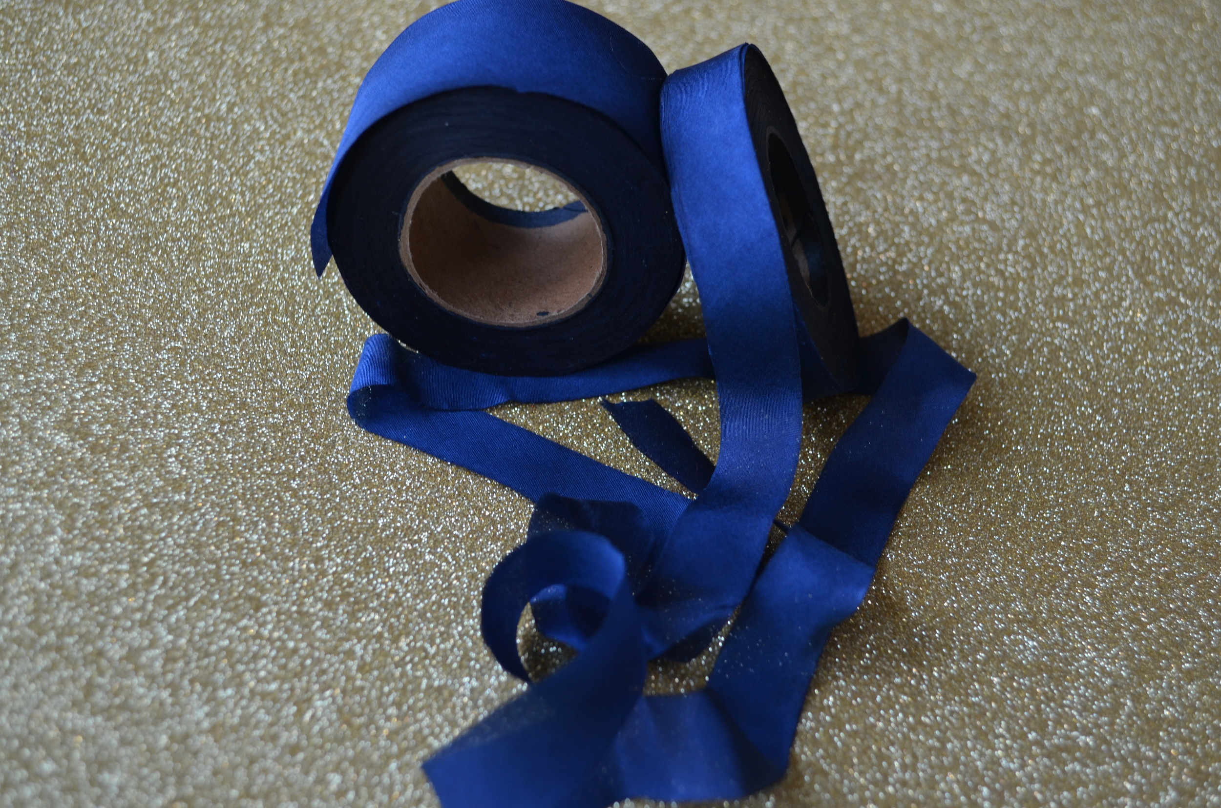 hand dyed ribbon / diy wedding paper crafts / warporweft.com