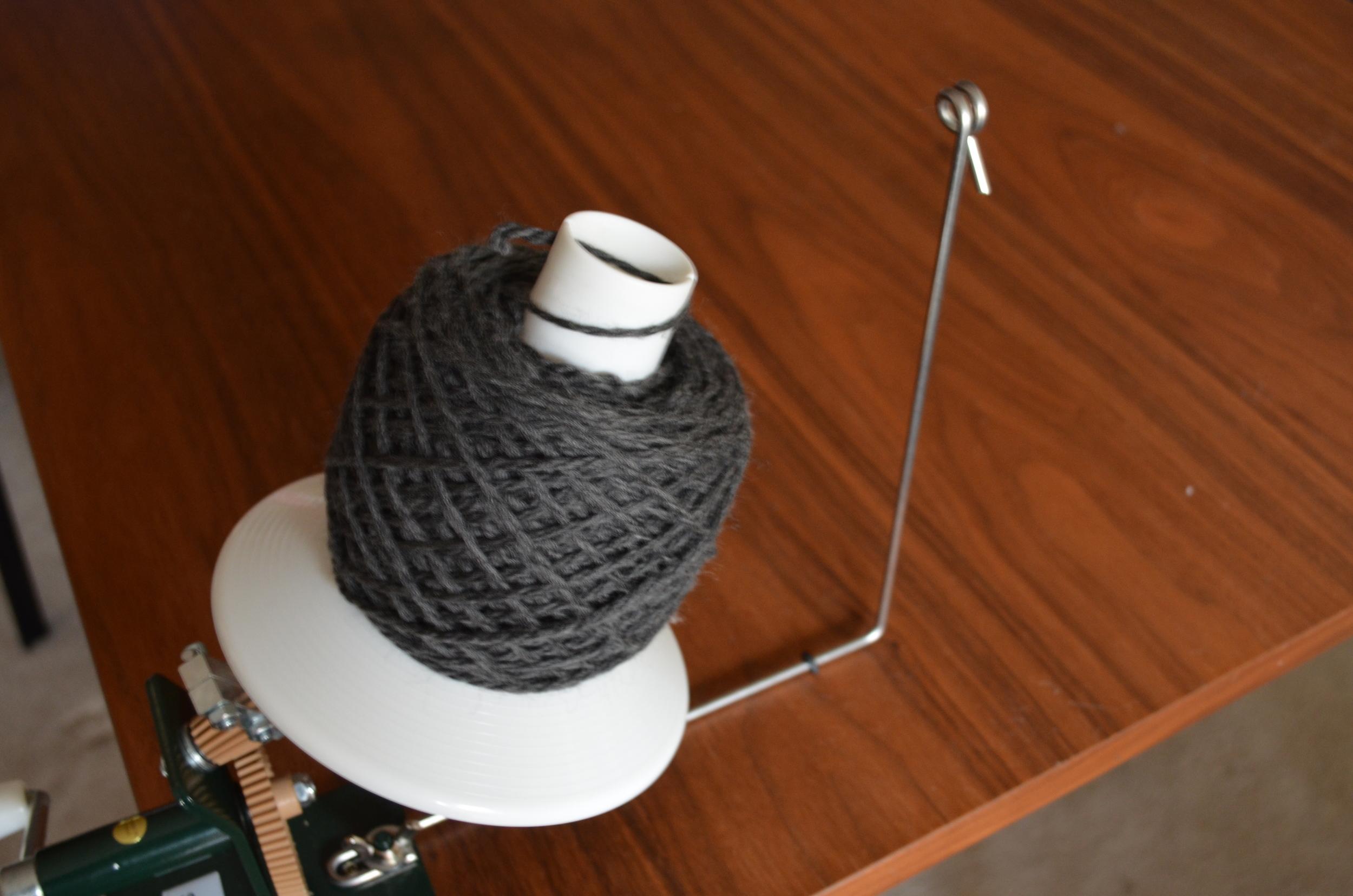 beautifully wound skein of yarn / warporweft.com