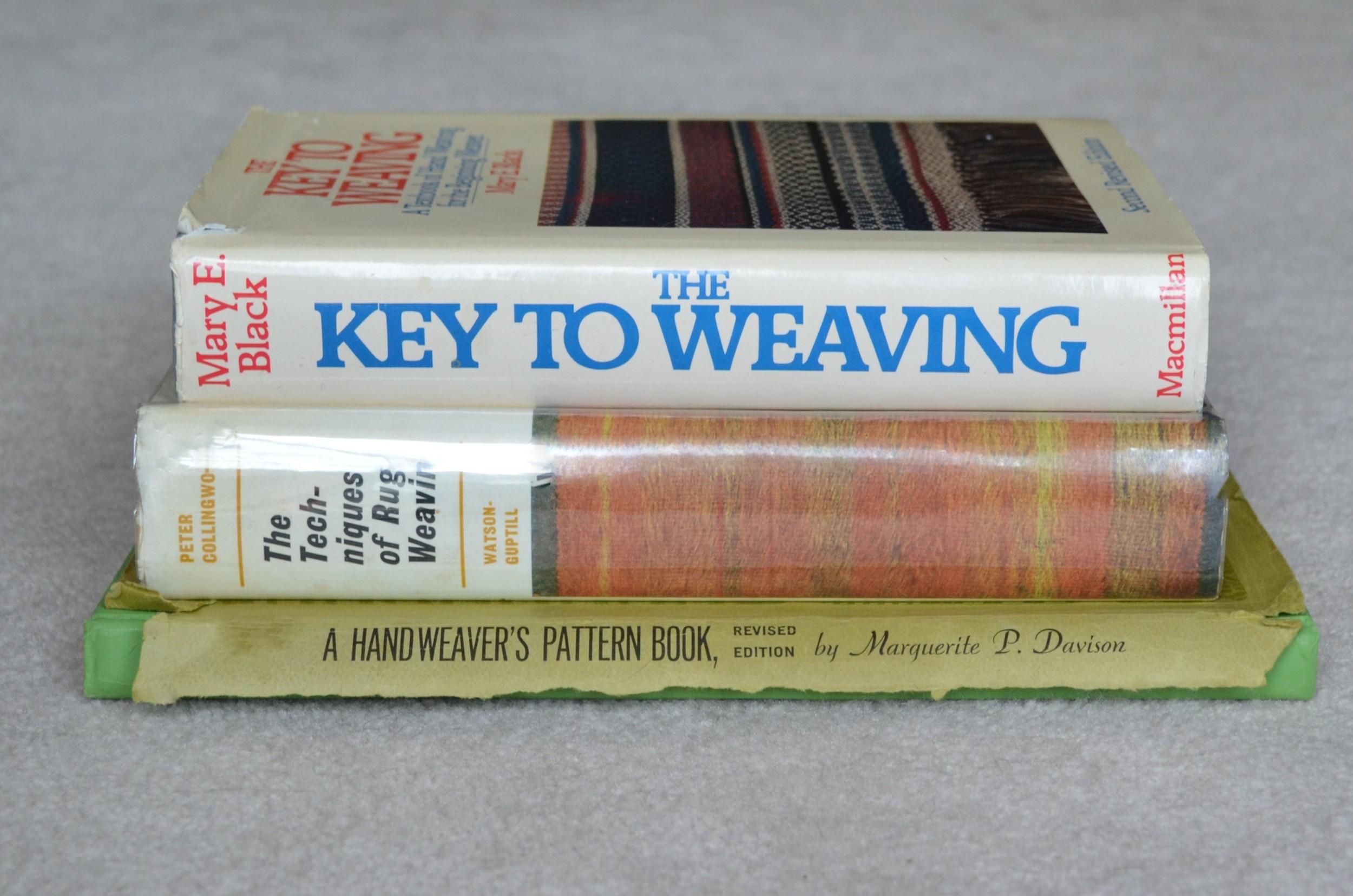 3 must have weaving books / warporweft.com
