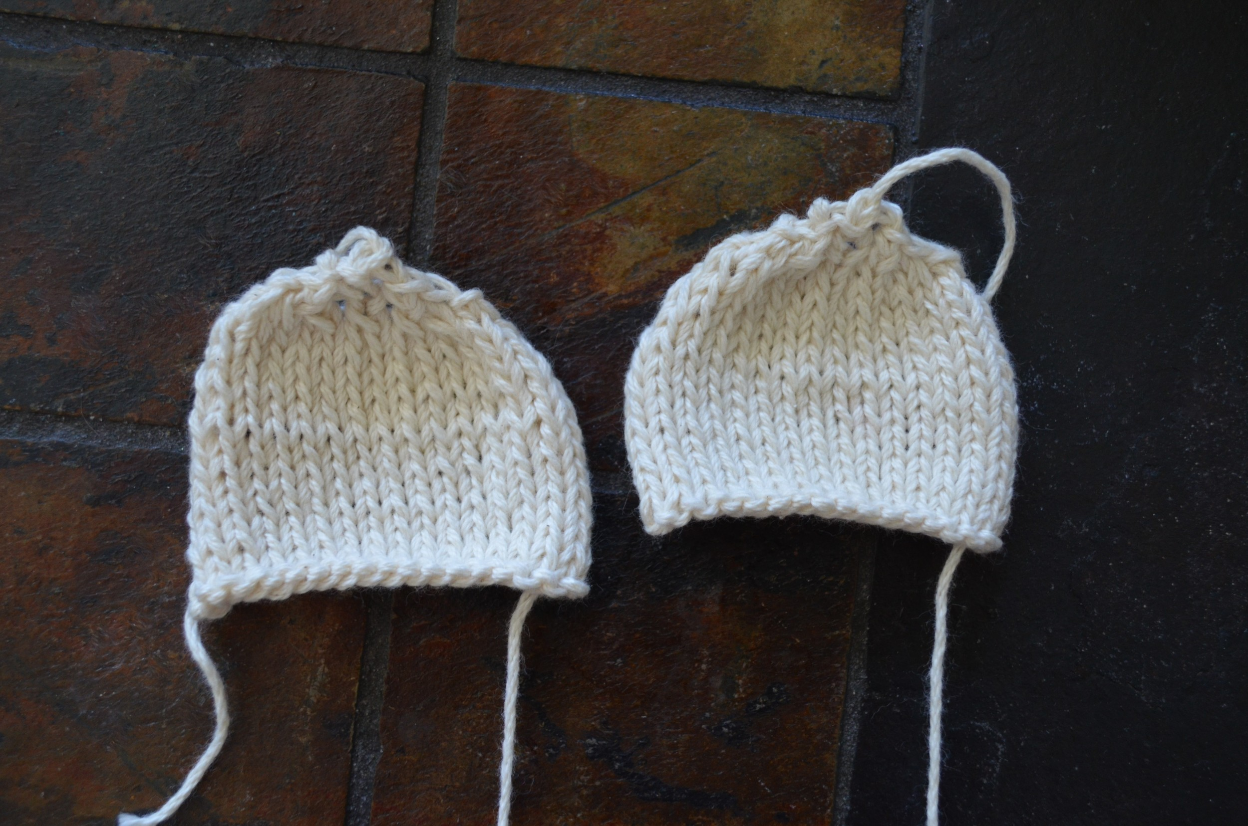 Bear Ear Knitting Pattern / warporweft.com