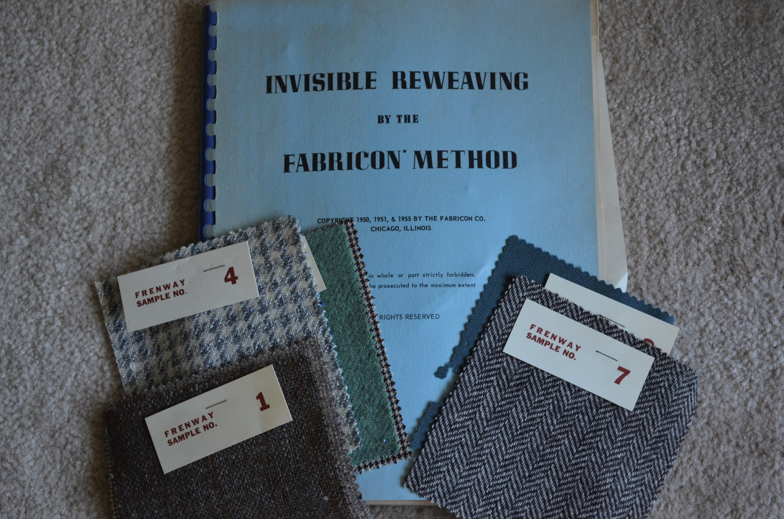 Reweaving book / warporweft.com