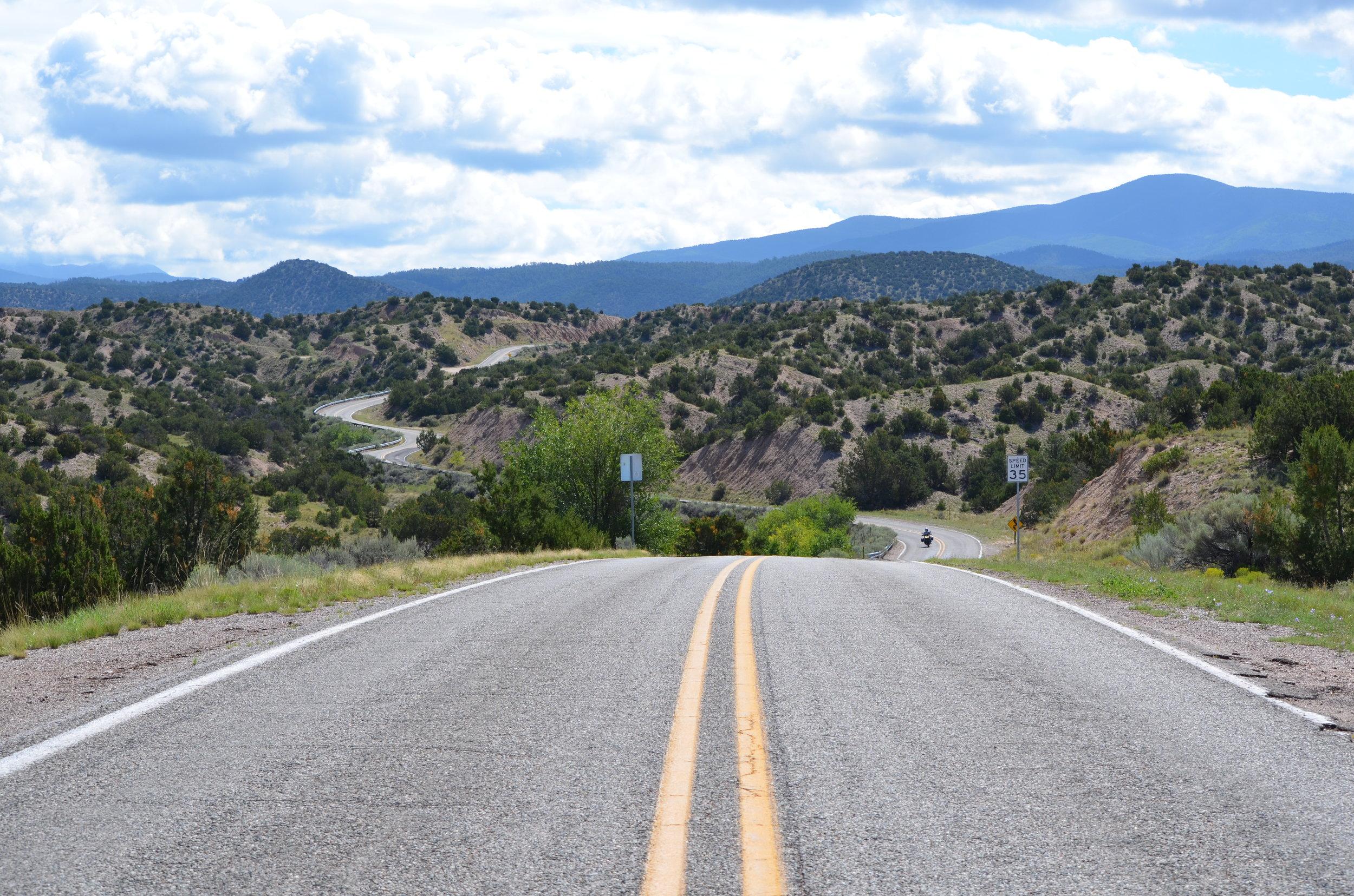New Mexico Landscape / warporweft.com