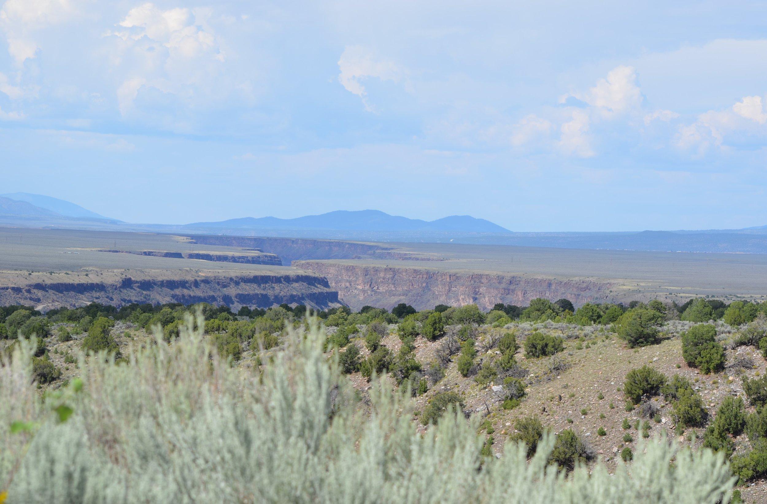Rio Grande River in New Mexico / warporweft.com