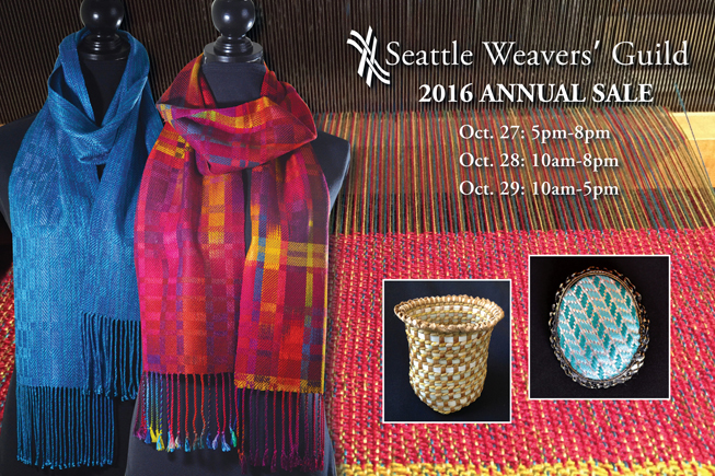 Seattle Weavers' Guild Annual Sale 2016 / warporweft.com