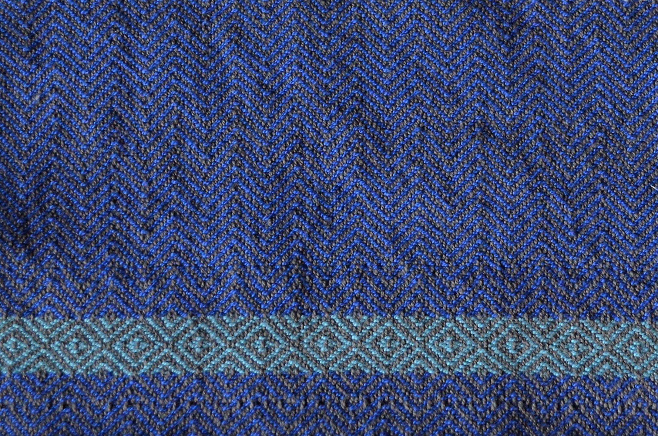 landis valley linen 4 shaft weaving pattern / warporweft.com