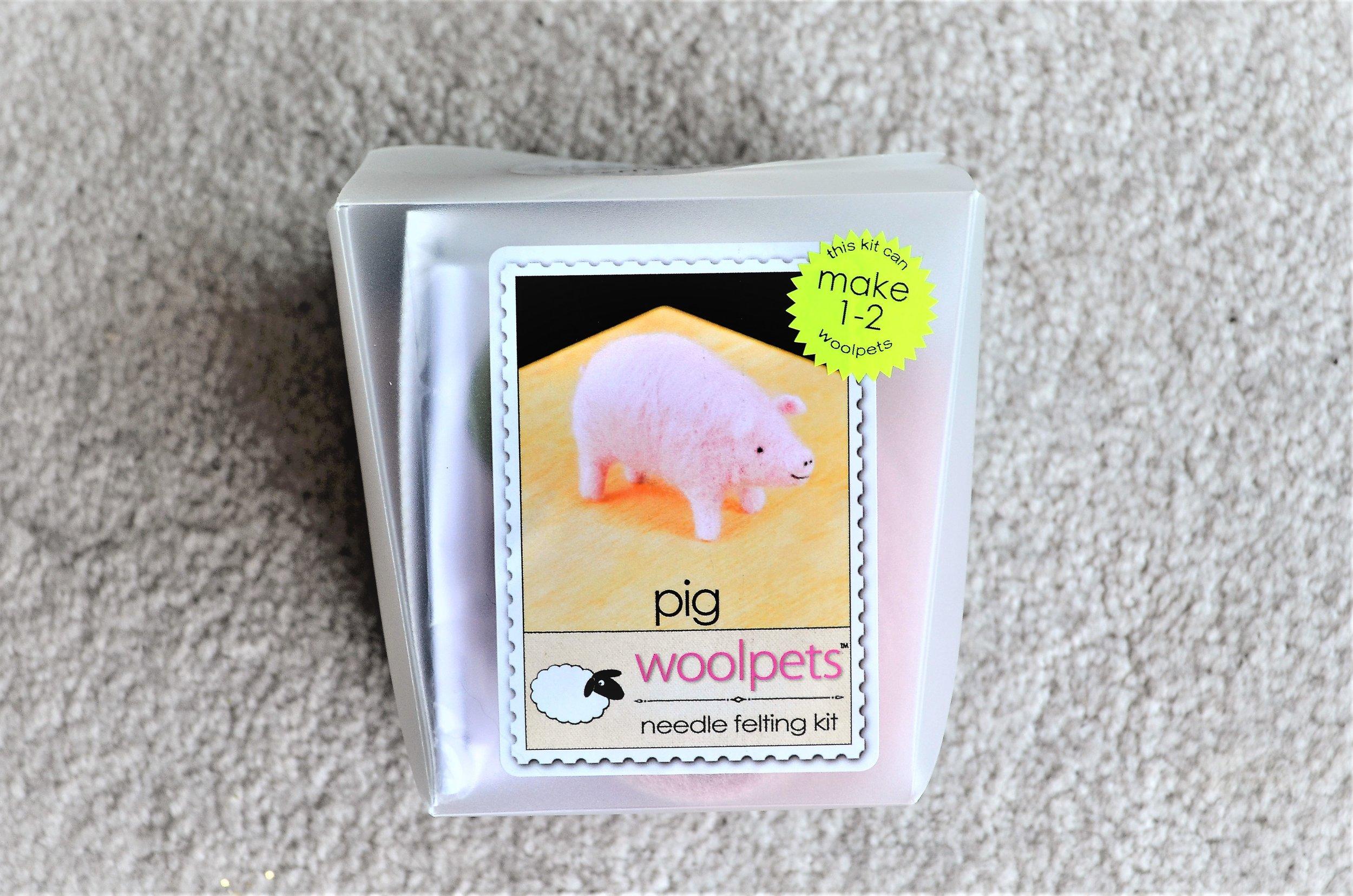 woolpets felt kit / gifts for knitters crochet felting
