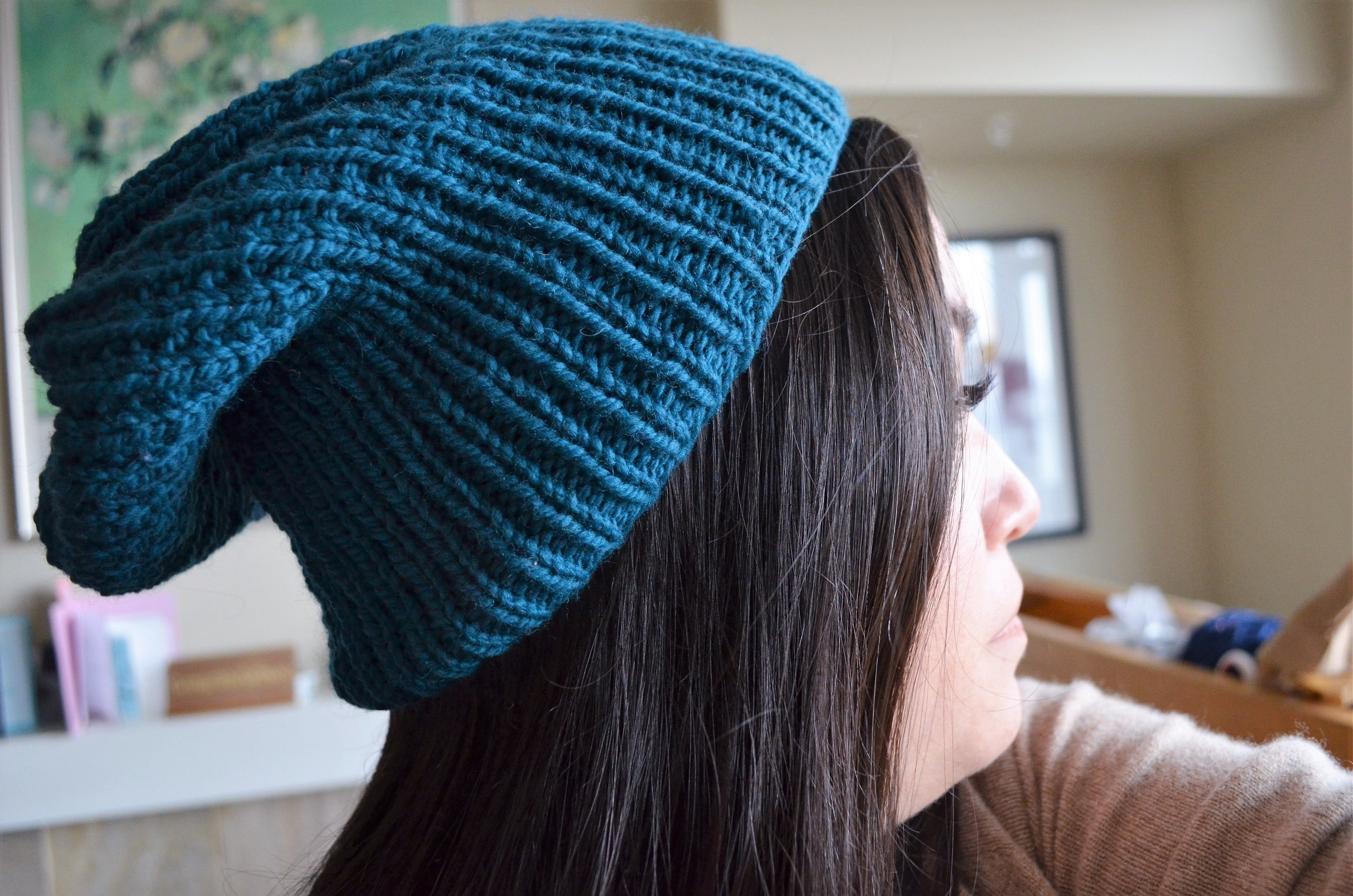 Sparkle Slouchy Hats / warporweft.com