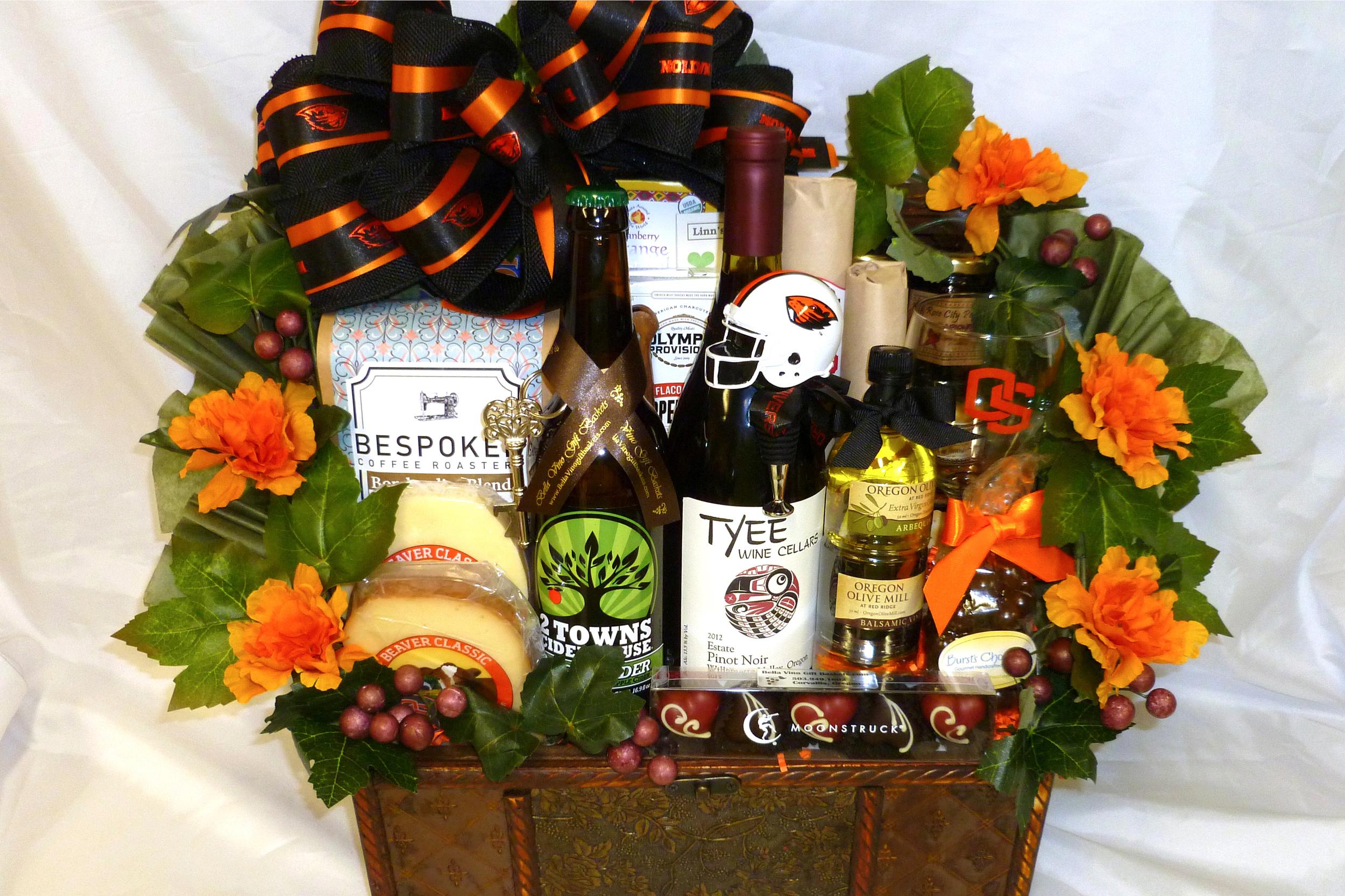 Oregon State Signing Day Celebration Wine Basket