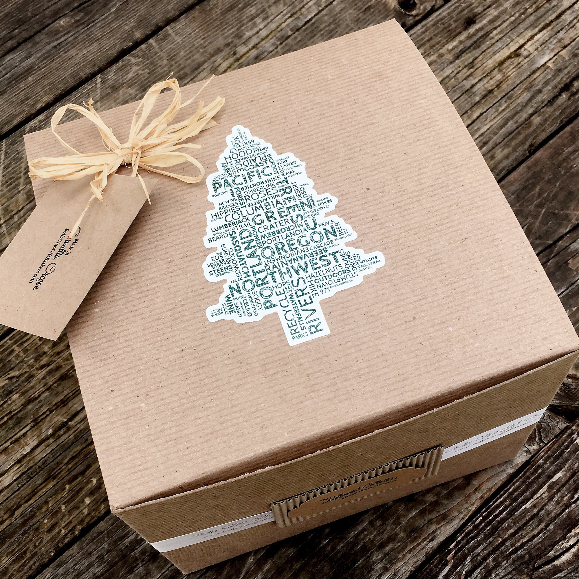 Pacific NW Tree Gift Box
