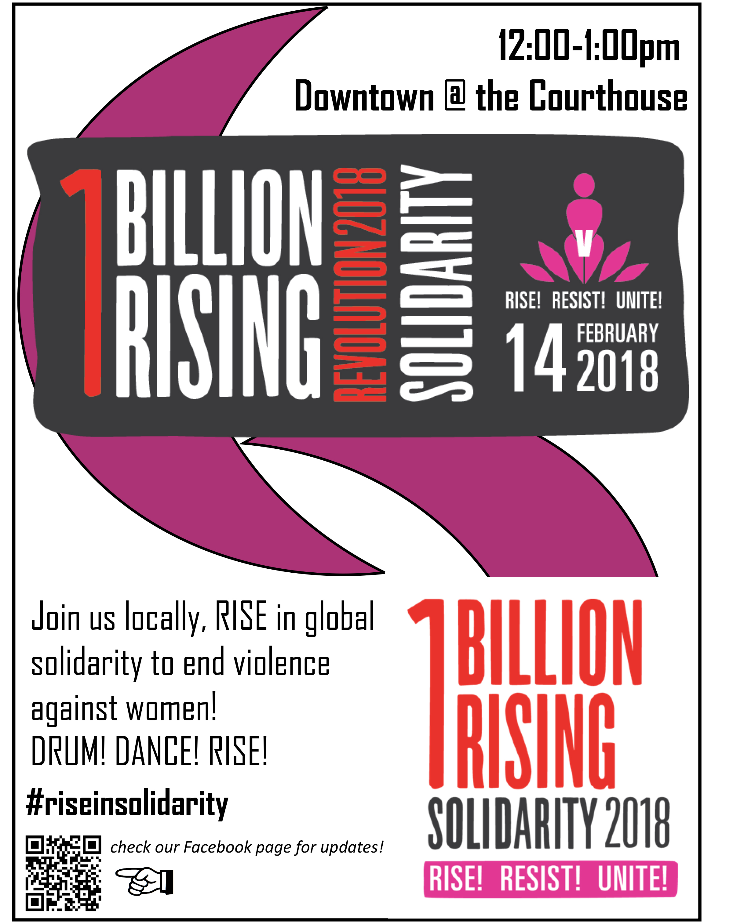 1 Billion Rising in Solidarity