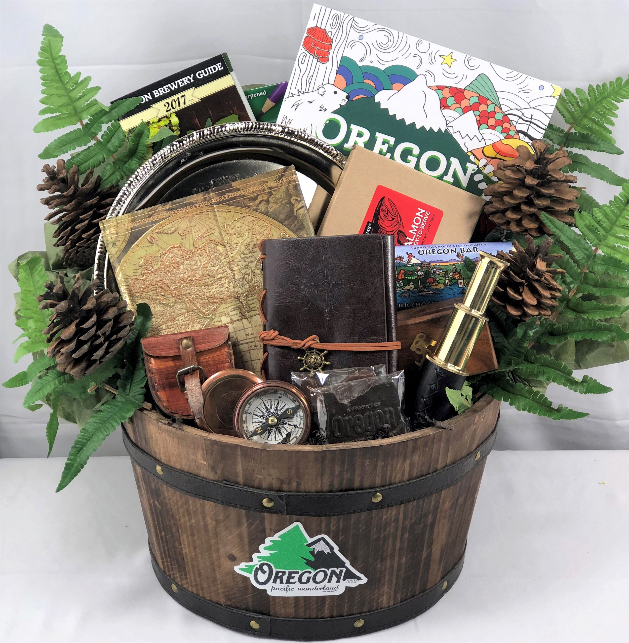 Oregon Treasures Gift Basket