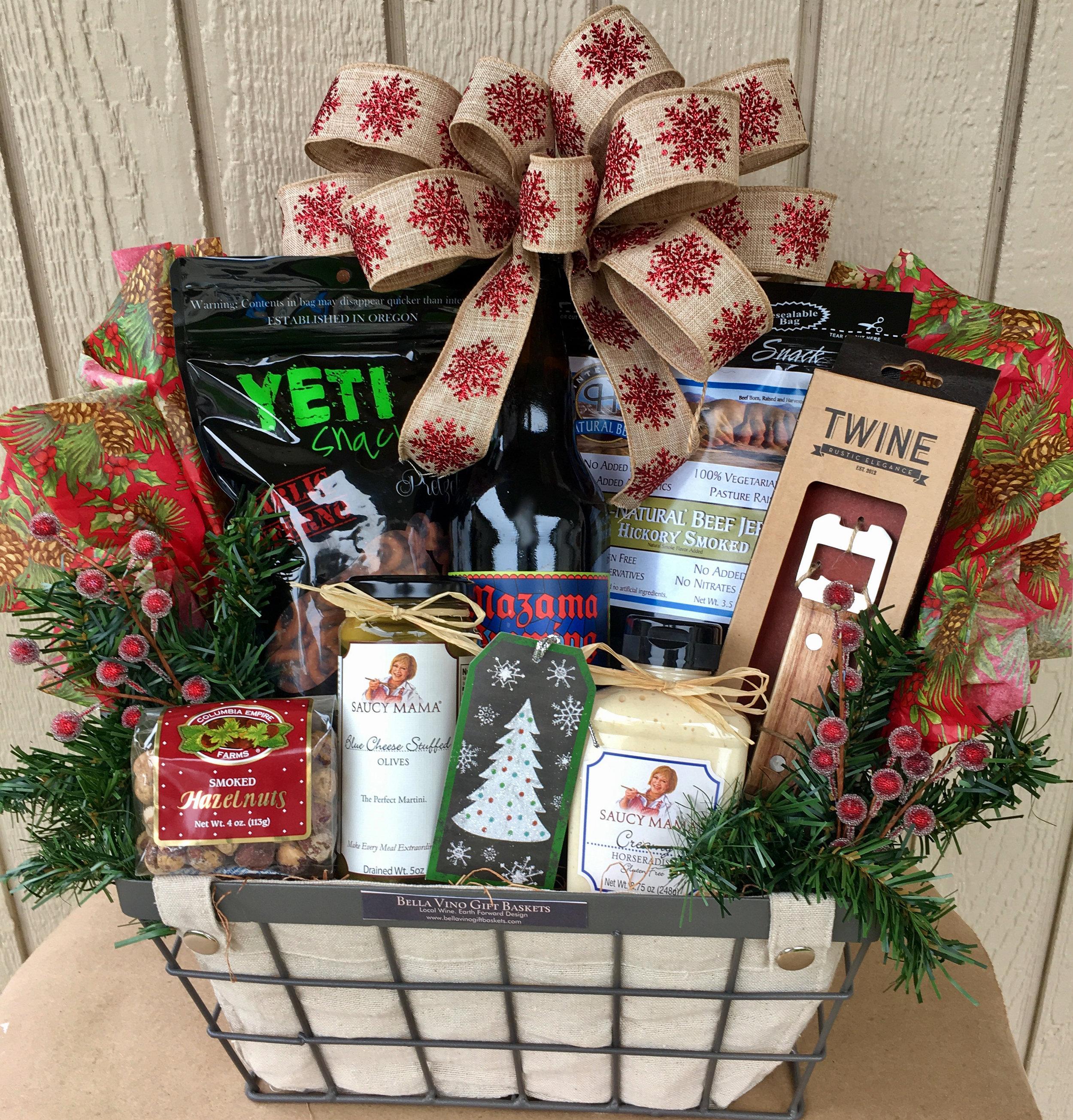 Holiday Oregon Beer Gift Basket
