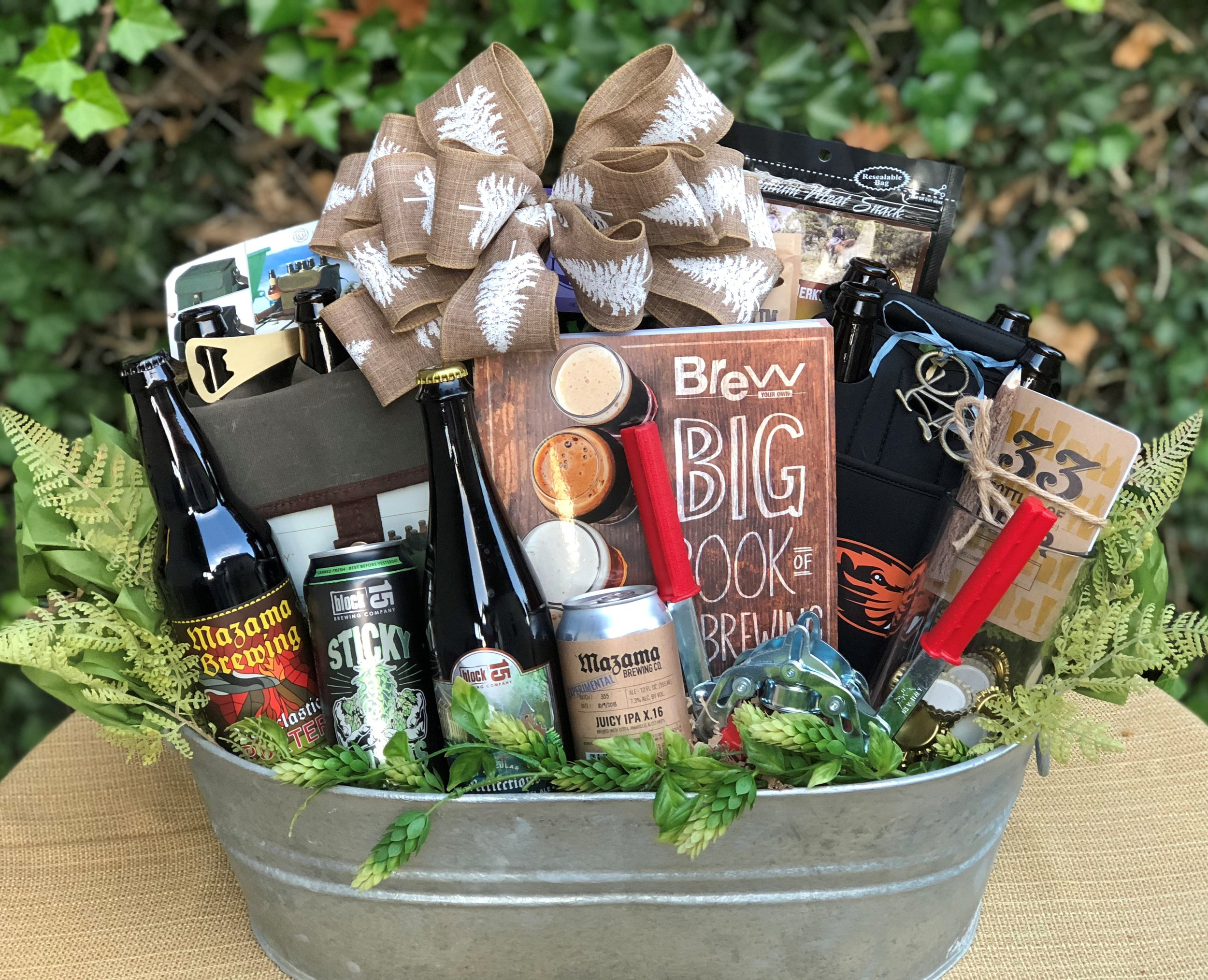 Oregon Home Brew Gift Basket