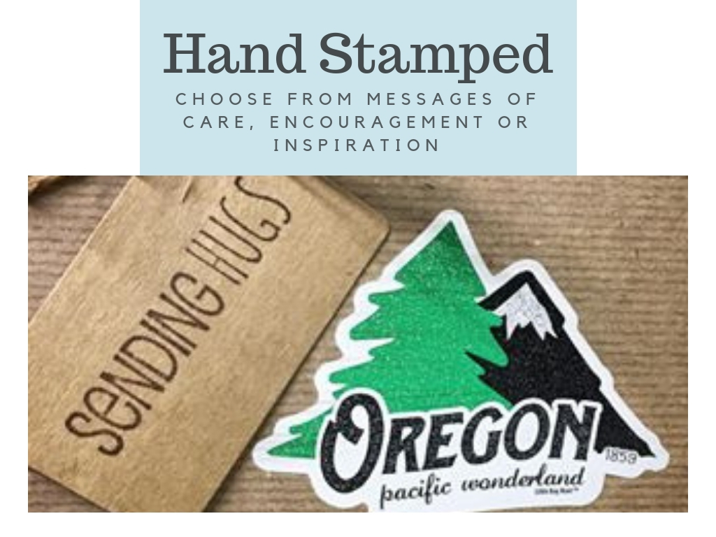 Hand Stamped Gift Tags