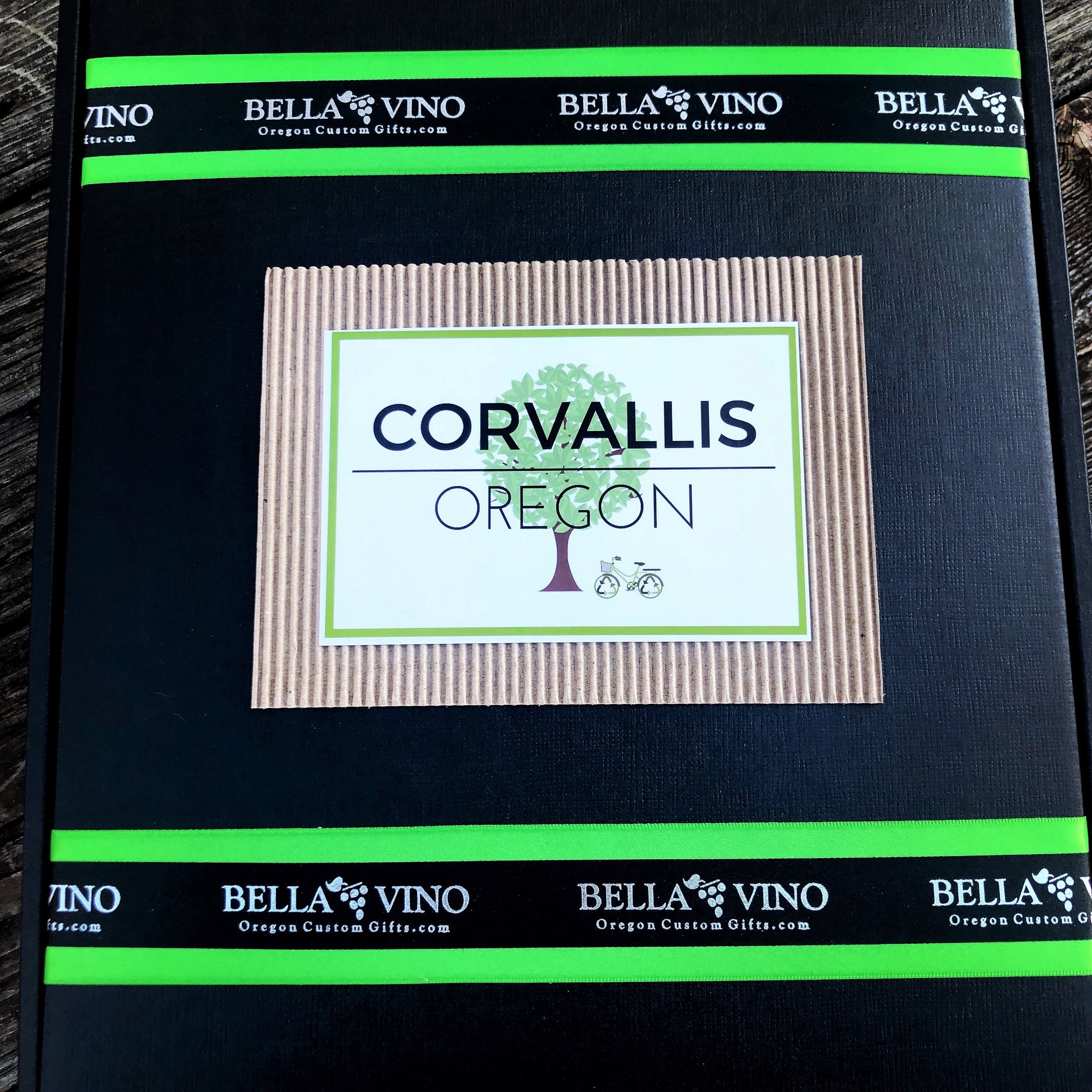 "Like this design? Select ""Corvallis Themed"" design on your custom form."