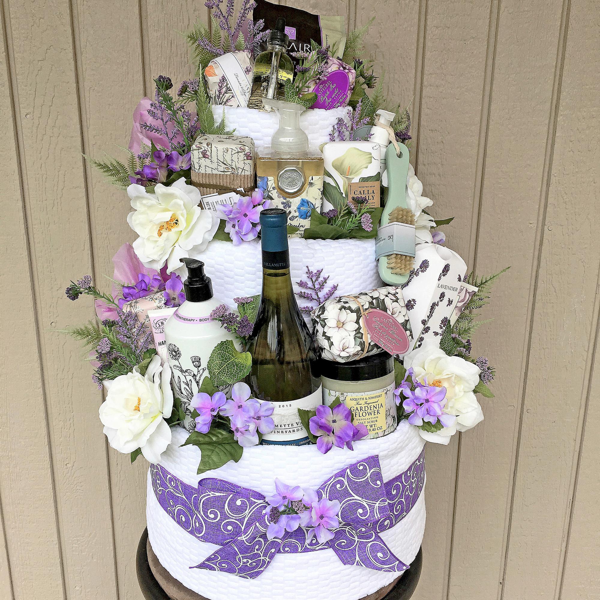 Garden Spa Gift Cake