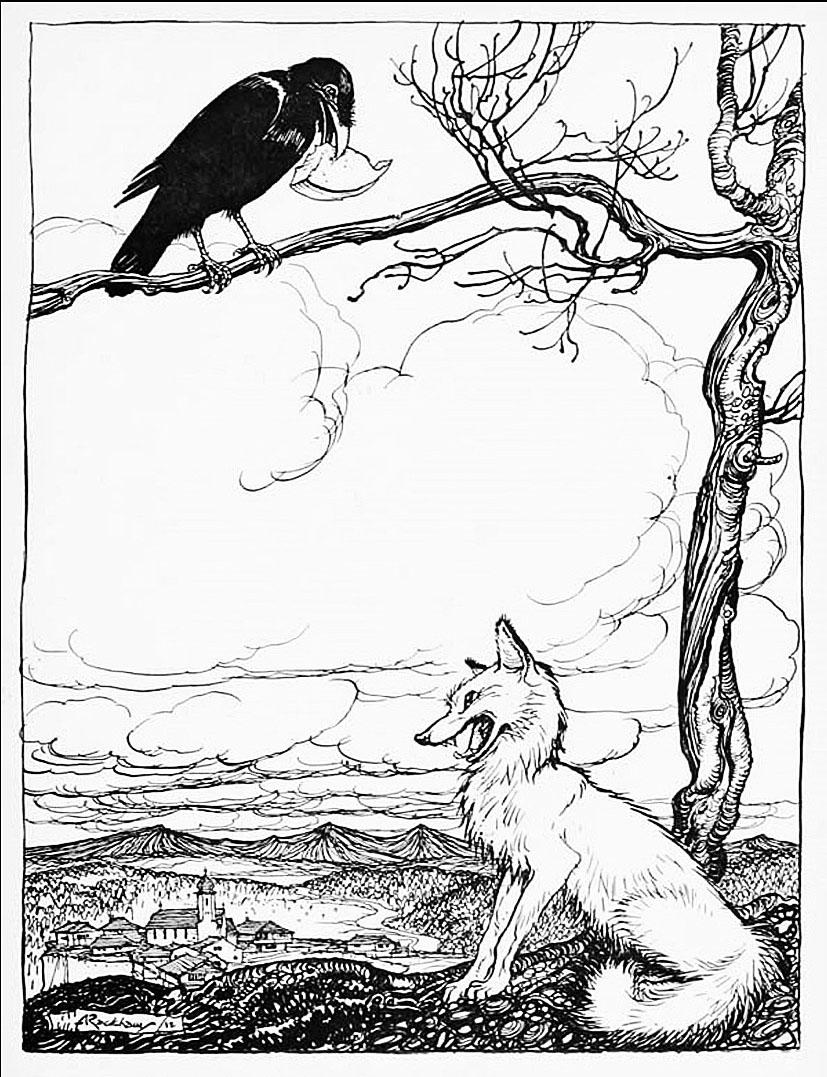 274 The Fox and the Crow.jpg